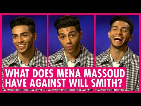 Find Out Who Mena Massoud Would Banish To The End Of The Earth - Aladdin Interview