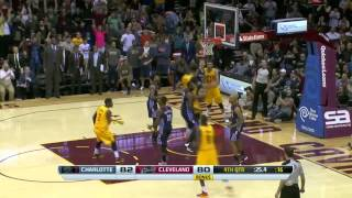 Charlotte Bobcats vs Cleveland Cavaliers   April 5, 2014   NBA 2013-14 Season