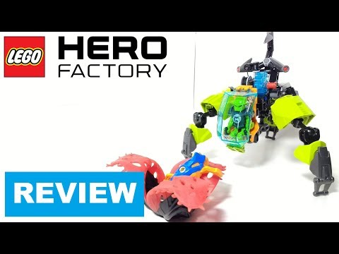 Lego Set Review: Hero Factory Breeze Flea Machine