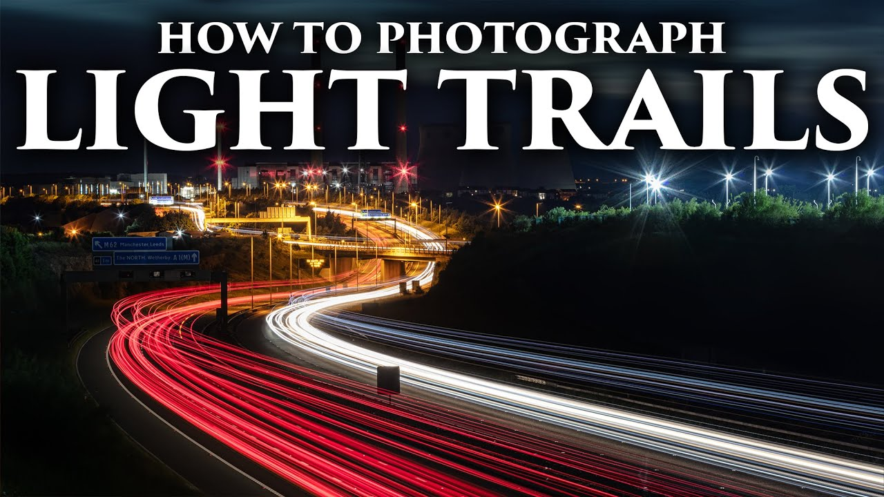 How to photograph light trails - EASY TUTORIAL!