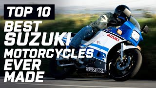 Top 10 Best Suzuki Motorcycles Ever Made | Visordown.com
