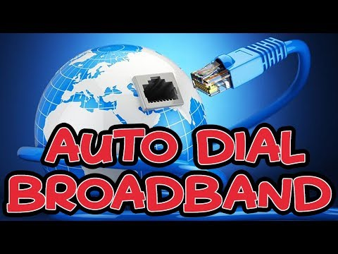 How To Set Auto Dial Broadband/PPOE Connection in Windows 10