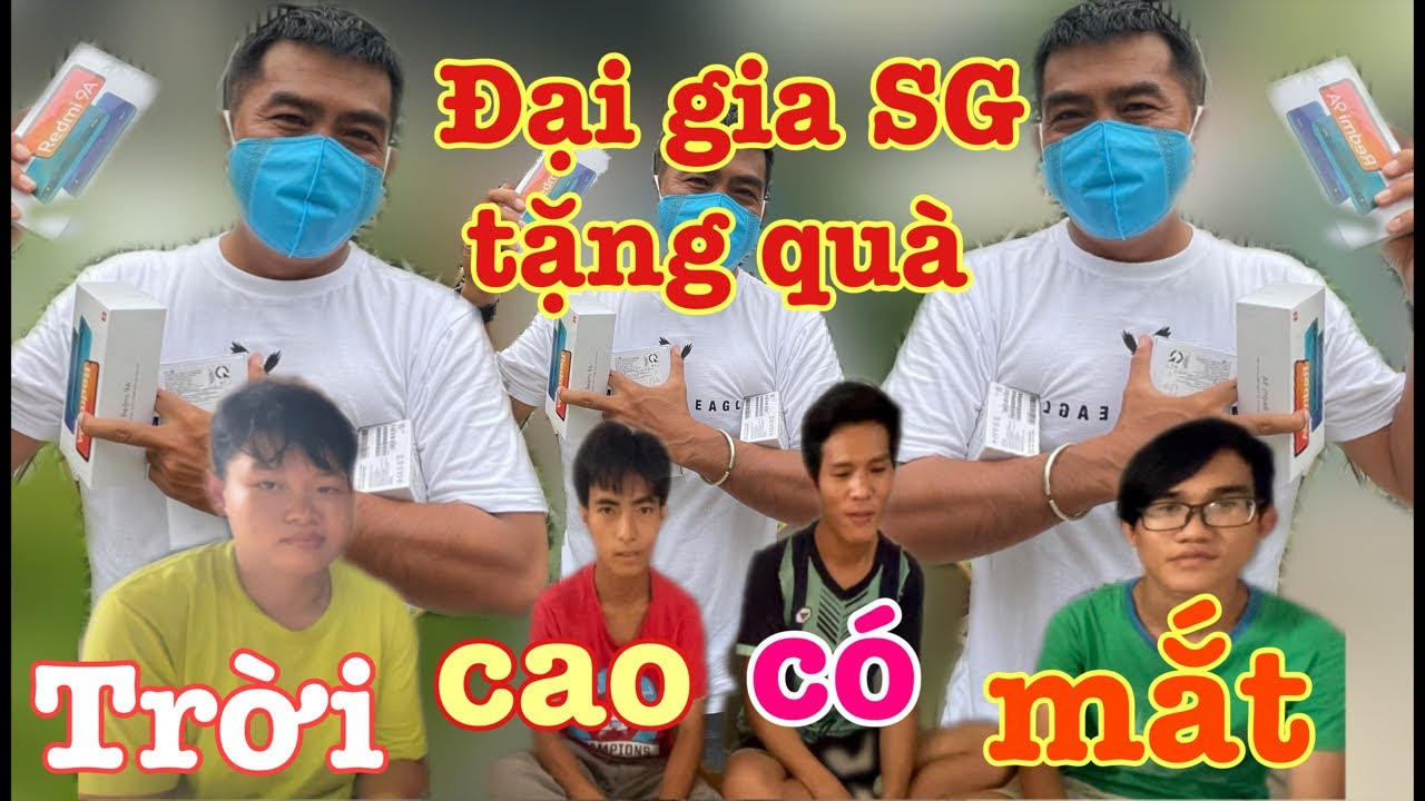 Đại gia Sài Gòn giận đứa phản bạn, tặng ngay 4 trẻ quà khủng