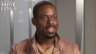 THE PREDATOR | On-set visit with Sterling K. Brown