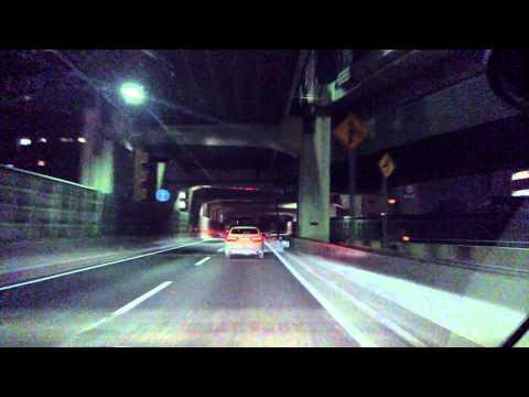 Tokyo night drive in Shibuya