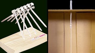 MAGICAL SCIENCE EXPERIMENT: Balancing Nails In Air | DIY Quick & Easy Science Projects For School