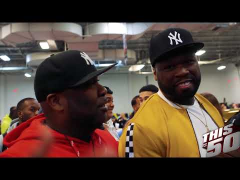 50 Cent & Thisis50 Take Over DJ Envy's Car Show