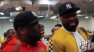 50 Cent & Thisis50 Take Over DJ Envy's Car Show
