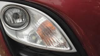замена ламп габариток, ПТФ на Mazda CX-7 (рестайлинг)