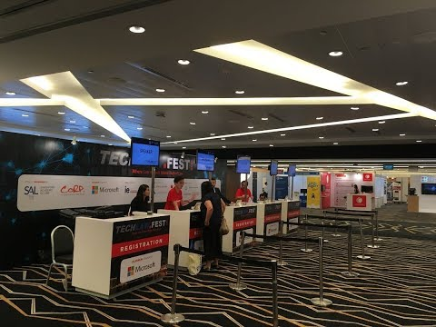 [Live] TechLawFest Onsite Mobile Check-in and Instant Badge Printing at Suntec Convention
