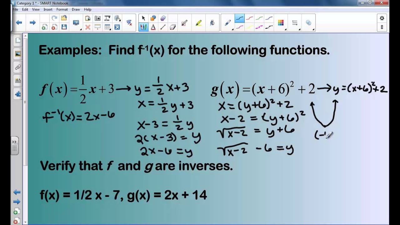 Texas Algebra 2 EOC Category 1 Review - YouTube