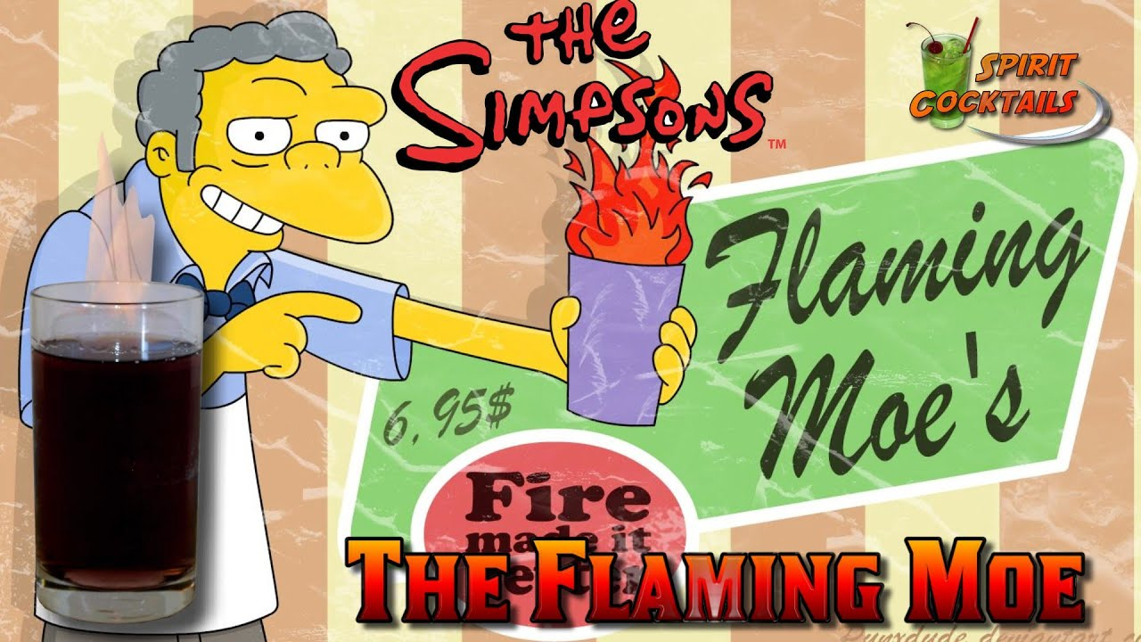 The Simpsons The Flaming Moe - YouTube