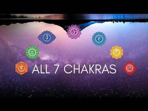 ALL 7 CHAKRAS HEALING MEDITATION MUSIC | 2018