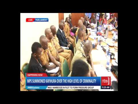 IGP Kayihura and the Police Leadership Before the Defense Committee (Part 2)