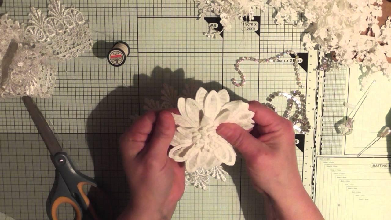 Easy To Make Elegant Shabby Tassel Flower