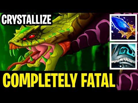 Completely Fatal - Vanonmancer Crystallize - Dota 2