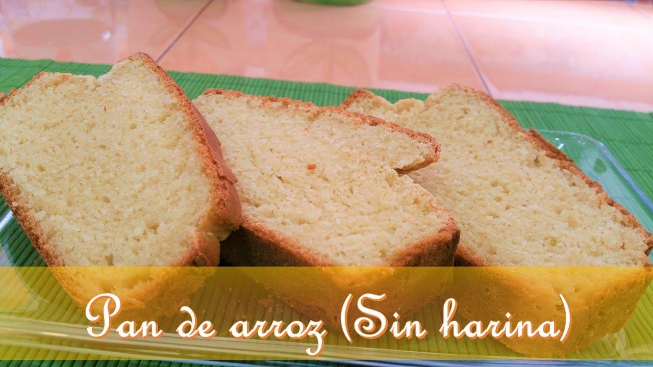 Pan de Arroz ( Sin harina)