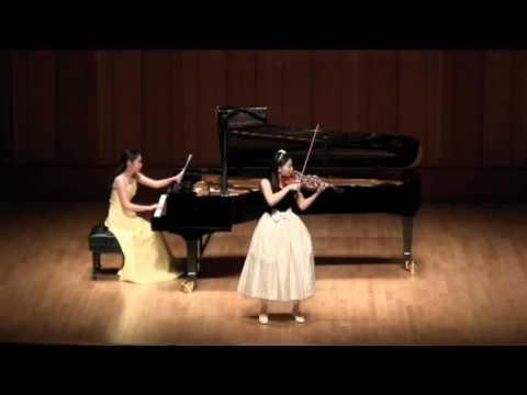 Lalo Symphonie Espagnole 1st movement Yuri Miyama(Vn.) Ayu Iwase(Pf.)