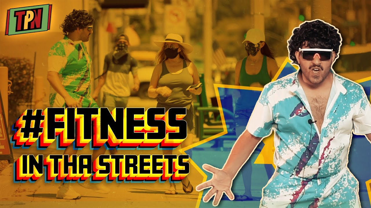 #FITNESS IN THE STREETS of LA | Spreading Love and the BEST DANCE MOVES | with FRAYDOUN