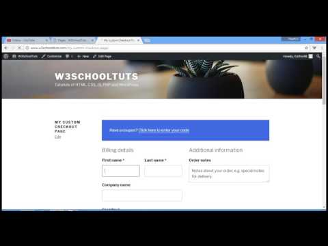 How To Create Custom WooCommerce Checkout Page