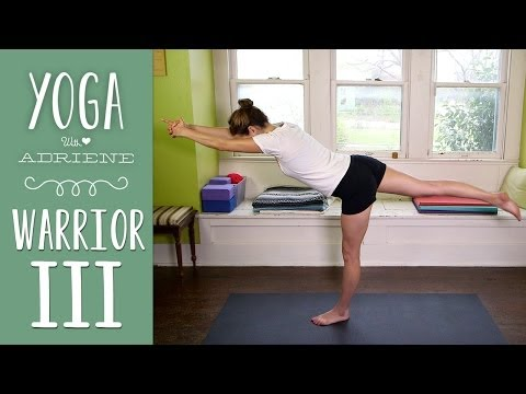 Warrior III - Foundations of Yoga
