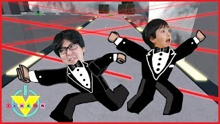 VTubers Ryan Vs. Daddy TOP SECRET Let's Play Roblox Spy Training Obby