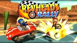 Rev Heads Rally Multiplayer Combat Kart Racing | Fun Racing Game for Kids (iOS Android Gameplay)