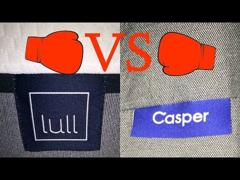 Lull Mattress V Casper Mattress