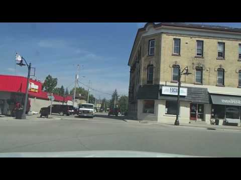 Driving around New Hamburg, Ontario