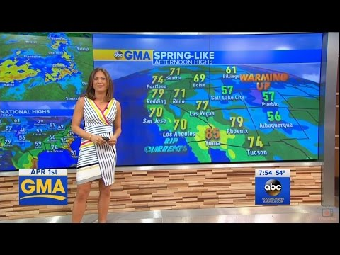 "Ginger Zee - ""Good Morning America"" 04/01/2016"