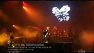 Música: Boys Be Suspicious Àlbum: The WORLD Ruler - 28 de fevereiro...