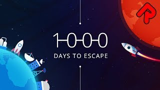 1000 Days to Escape gameplay: Rehouse an Entire Planet! (PC space program sim)