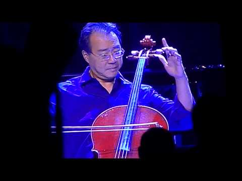 Yo-Yo Ma, Stuart Duncan, Edgar Meyer & Chris Thile-Bach live in Highland Park, IL 8-18-13