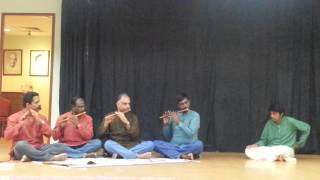 RaraVenu Gopa Bala on Flute