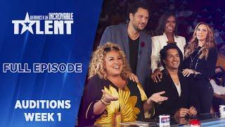 France's Got Talent - Auditions - Week 1 - FULL EPISODE