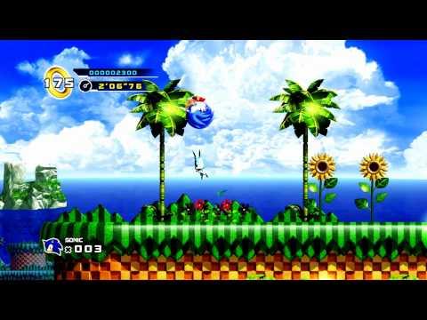 Let's Play Sonic 4 : Episode 1 - Memory Lane