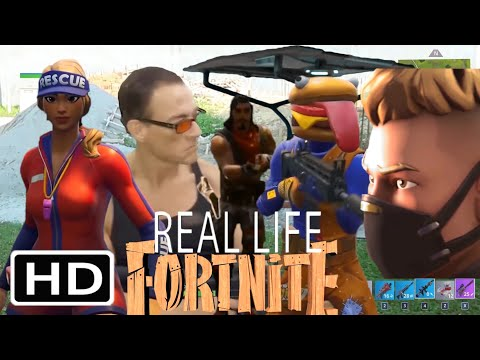 FORTNITE IN REAL LIFE HD 2019 (with Actors Jean Claude Van Damme)