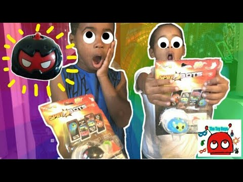 SpinBots Toy Unboxing | The Toy Boys Unbox the Fast and Furious Bots | The Toy Boys
