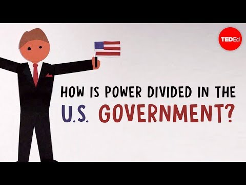 How is power divided in the United States government? - Belinda Stutzman