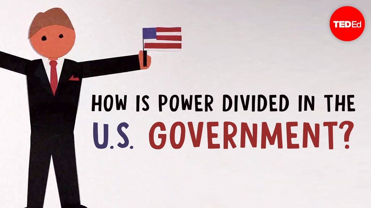 How is power divided in the United States government? - | TED-Ed