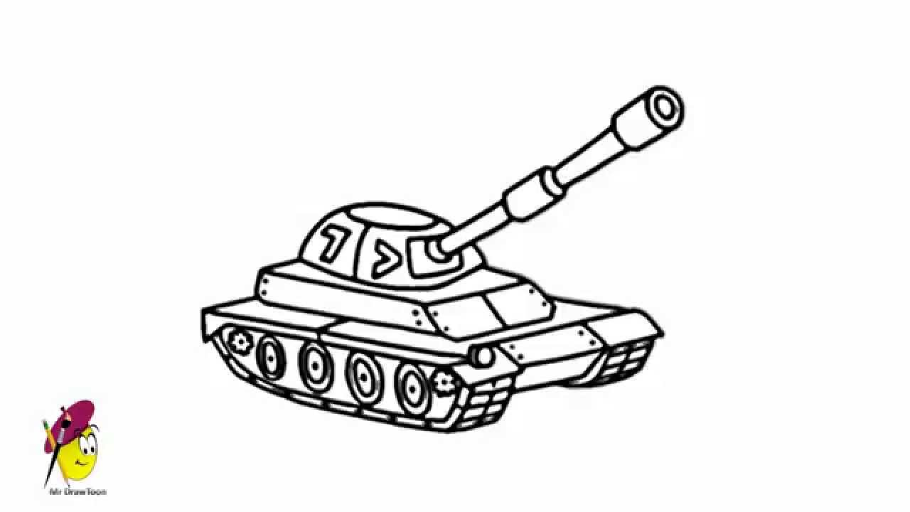 Uncategorized How To Draw Tank tank how to draw a easy and cool youtube