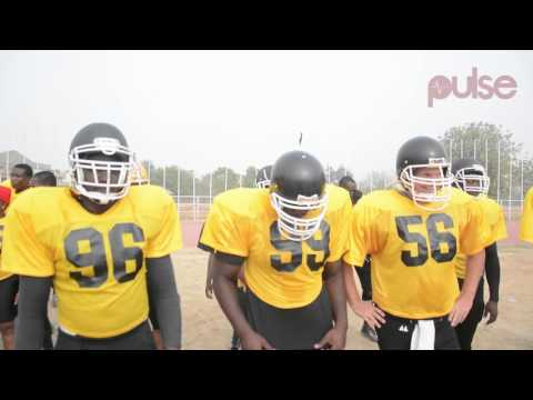 First Official American Football Game In Nigeria - ABU Titans vs Lagos Marines