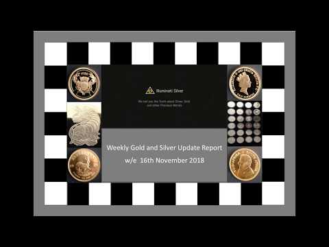 Gold and Silver weekly update for w/e 16th November 2018