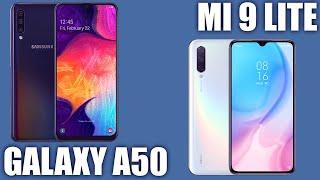 Xiaomi Mi 9 Lite vs Samsung Galaxy A50. 💪🏻 Кто как себя покажет?