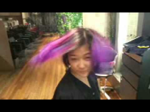 Balayage Magenta Purple