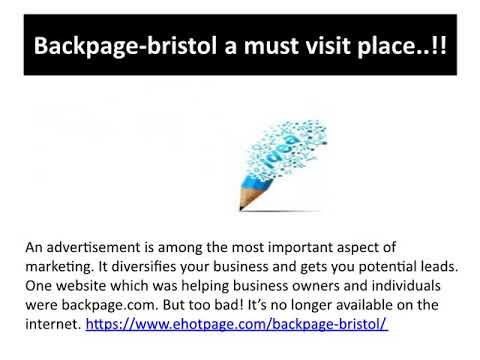 Bristol backpages