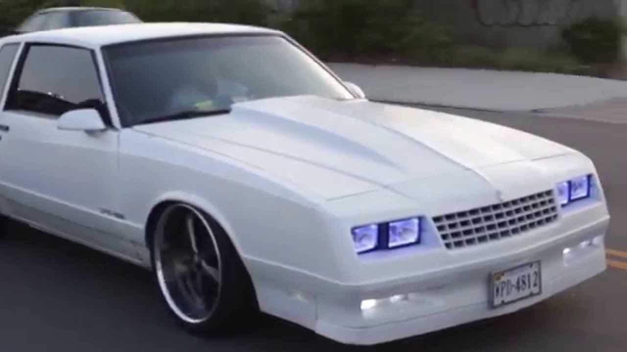 1988 Monte Carlo SS Dipped and Bagged on American Racing Wheels