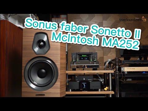 [內建字幕]-中價位樣樣齊!sonus-faber-sonetto-ii-mcintosh-ma252