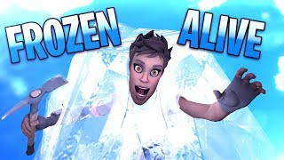FROZEN ALIVE! Fortnite Funny Moments