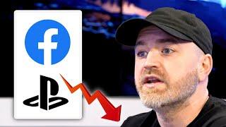 PlayStation Suspends All Facebook Activity